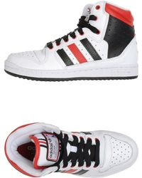 Adidas Hightop Trainers - Lyst