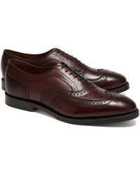 Brooks Brothers Leather Wingtips - Lyst