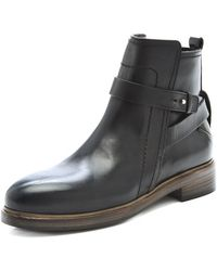 CoSTUME NATIONAL - Leather Wraparound Booties - Lyst