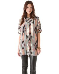 Tucker Turtleneck Tunic Dress - Lyst