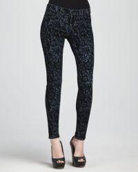 J Brand 811 Brocade Skinny Jeans - Lyst