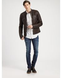 Dolce & Gabbana Whiskered Slim Fit Jeans - Lyst