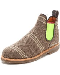 Penelope Chilvers - Safari Booties with Neon Gore - Lyst