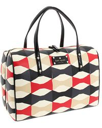 Kate Spade Abstract Signature Bow Shawna - Lyst