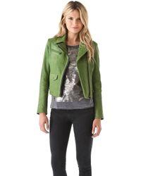 Kelly Wearstler - Newton Leather Moto Jacket - Lyst