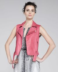 Kelly Wearstler - Voce Leather Vest - Lyst