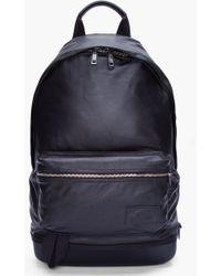 b8d3618d33ce Kris Van Assche - Black Leather Backpack - Lyst