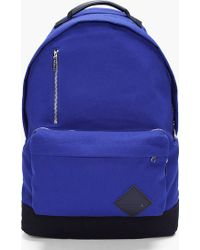 Kris Van Assche - Blue Zippered Backpack - Lyst
