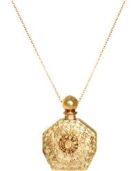 River Island Perfume Bottle Necklace - Lyst