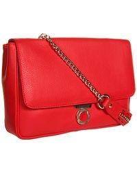 Versace Leather Shoulder Bag  - Lyst