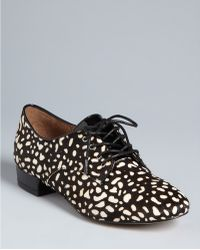 Dolce Vita Dv Lace Up Oxford Flats Flynn - Lyst