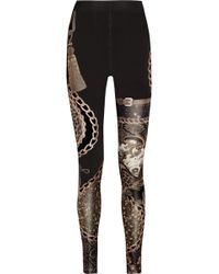 Emma Cook | Printed Stretch Jersey Leggings | Lyst