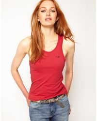 G-Star RAW Gstar Vest Top with Open Back - Lyst