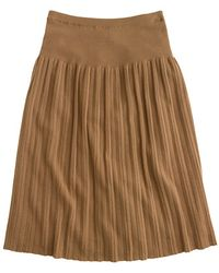 J.Crew Pleated Sweaterskirt - Lyst