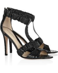 Alexandre Birman - Knotted Suede Cage Pump - Lyst