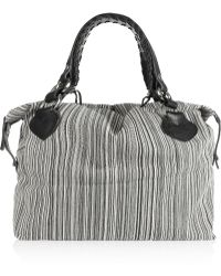 Pauric Sweeney - Striped Canvas Tote - Lyst