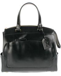 Reed Krakoff Polished Calf Rigid Bag black - Lyst
