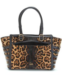 Christian Louboutin Farida Bowler Haircalf and Leather Tote - Lyst