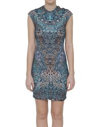 McQ by Alexander McQueen Printed Jersey Dress - Lyst