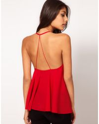 ASOS Collection Asos Backless Cami - Lyst