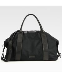 Ben Minkoff - Canvas and Leather Shoulder Bag - Lyst