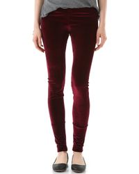 LNA Velvet Leggings - Lyst