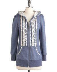 ModCloth Ever So Soften Hoodie - Lyst