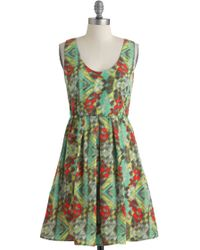 ModCloth Pigment For You Dress - Lyst
