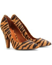 Mulberry Haircalf Pumps - Lyst
