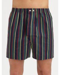 Derek Rose Striped Boxer Shorts - Lyst