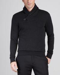 Ralph Lauren Black Label - Shawlcollar Sweater - Lyst