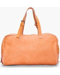 Common Projects Tan Leather Duffle Bag - Lyst