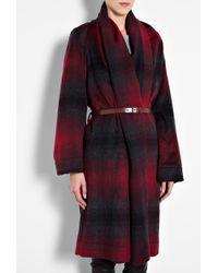 Vivienne Westwood Anglomania Classic Gainsborough Plaid Coat - Lyst