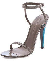 Jenni Kayne Ankle Strap Heels - Lyst