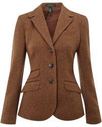 Lauren by Ralph Lauren - Berstein Wool Jacket - Lyst
