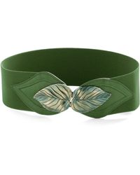 ModCloth | Cant Leaf It Be Belt in Green | Lyst
