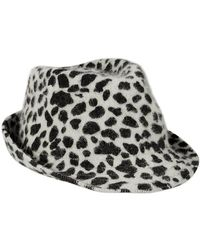Old Navy Wool Felt Fedoras - Lyst