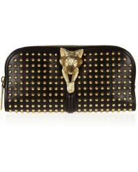 Burberry Prorsum - Studded Leather Clutch - Lyst