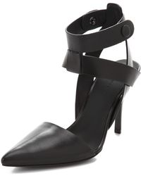 Alexander Wang Sonja Ankle Strap Pumps - Lyst