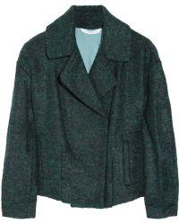 Diane von Furstenberg Margee Wool blend Jacket - Lyst