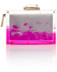 Kotur Resort Pink Snow Globe Clutch - Lyst