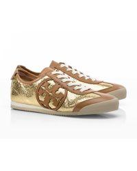 f7350bd5eb2745 Tory Burch - Mirror Metallic Murphey Sneaker - Lyst