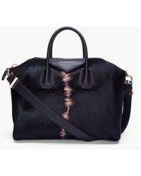 Givenchy Medium Calfhair Antigona Bag - Lyst