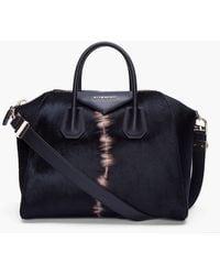 Givenchy Medium Calfhair Antigona Bag black - Lyst