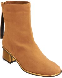 Marni Square Toe Ankle Boot - Lyst