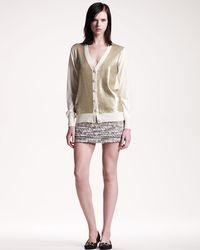 Gryphon - Elle Miniskirt - Lyst