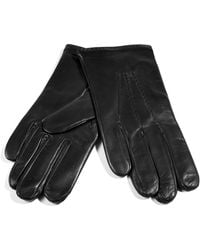Paul Smith - Black Leather Gloves - Lyst