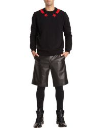 Givenchy Star Sweatshirt - Lyst