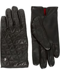 Plectrum By Ben Sherman Ben Sherman Plectrum Quilted Gloves - Lyst