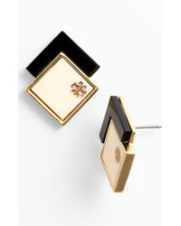 Tory Burch Tomi Stud Earrings - Lyst